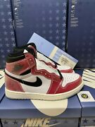 Jordan 1 Retro High Trophy Room Size 7.5-14 Friends And Family With Blue Laces