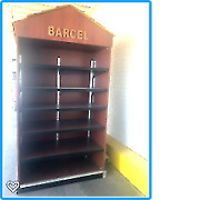 Open Ended Wooden Shadow Boxes Comes In Two Or Three Sections