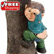 Bits And Pieces - Whistling Motion Sensor Elf On A Tree - Gnome Sound Sensor