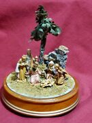 Genuine Fontanini 6 Figures Italy Made Collectibles Musical Nativity Scene 1995