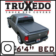 Truxedo Lo Pro Tonneau Bed Cover For 2012-2018 Ram 1500 6and039 4 Bed W/ Rambox