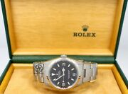 Rolex Explorer I 114270 Steel Oyster Black 36mm Watch Box Papers Mint Condition