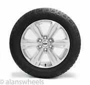 """4 New Takeoff Ford F150 Platinum 20"""" Factory Oem Polished Wheels Rims Tires"""