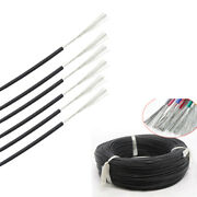 2 30awg Silicone Cable Flexible Soft Wire Ul 0.08mm Black Rc 2000v Hv Wires Vw