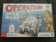 Star Wars Edition Operation Game 2011 C3po R2d2 Sound Effects New In Sealed Box