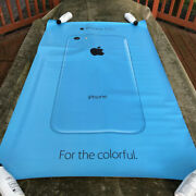 Huge Store Display Iphone 5c Apple Computer Original 3ft X 5ft Double-sided