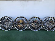 2007-11 Mercedes Benz S550 S600 19 Genuine Factory Oem Chrome Wheels Rims Set