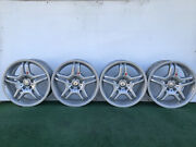 Mercedes Benz Amg C-class E-class 4matic 18 Genuine Factory Oem Wheels Rims Set