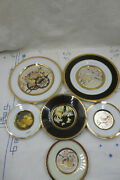 The Art Of Chokin And Cloisonne , Japanese Collectors Plates 24k Gold