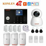 Tuya Wifi Smart 3g 4g Gsm Alarm System Home Security Wireless Wired With Google