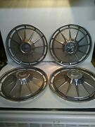 1960 Thru 1964 Chevy Corvair Hubcaps Very Nice Condition