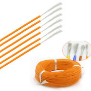 1028awg Orange Silicone Cable Flexible Wire Ul 0.08mm Rc 2000v Hv Wires Vw-1