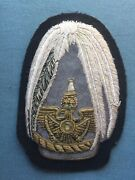 Military Patch Possibly Ww2 Prussian Coast Guard Lighthouse Above Crown