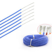 8 30awg Silicone Cable Flexible Wire Ul 0.08mm Blue Rc 2000v Hv Wires Vw-1