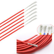 2 30awg Silicone Cable Flexible Wire Ul 0.08mm Red Rc 2000v Hv Wires Vw-1