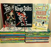 Near Complete Set Dr.seuss Books Lot Of 40 Hardcover Large Formatcollectibles