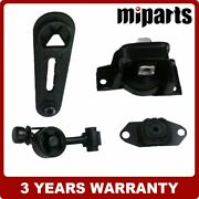 New Engines Motor And Trans Mount 4pcs Fit For 2007-2012 Nissan Versa Cube