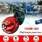 150db Train Horn 12v Super Loud Electric Air For Motorcycle Car Truck Boat