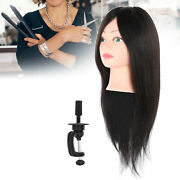 Hair Mannequin Head Practice Hairdresser Training Head Manikin Cosmetology Doll