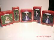 Hallmark Barbie Ornaments Christmas You Get All 5 Pictured Perfect For Gifts