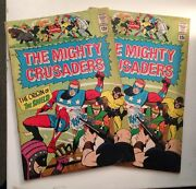The Mighty Crusaders 1/silver Age Radio Comic Book/2 Copies/both 2.0gd