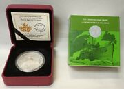2016 The Canadian Home Front Patrol Against U-boats20 Silver Coinbox And Coa