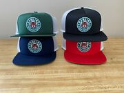 Nike Stranger Things Snapback Hat 4-lot Red, Black, Navy And Green