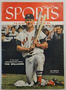 Ted Williams Boston Red Sox August 1, 1955 Sports Illustrated Magazine Vol 3 5