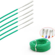 8 30awg Silicone Cable Flexible Wire Ul 0.08mm Green Rc 2000v Hv Wires Vw-1