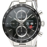 Free Shipping Pre-owned Tag Heuer Cv201q Carrera Tuscany Hill Road Limited