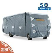 King Bird Extra-thick 5 Layers Class C Rv Cover Camper Motorhome Storage 20'-32'