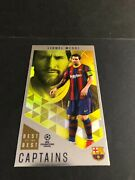 Lionel Messi Topps Best Of The Best Captains 166 New Mint