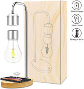 Magnetic Levitating Light Floating Led Bulb Lamp Wireless Charging Unique Gifts