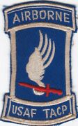 Usaf Tacp Airborne Vietnam Tactical Air Control Party Patch 1
