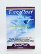 Easy Cast Clear Low Odor Casting Epoxy Resin Mix 8floz236ml 2 Part Mix New