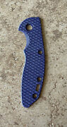Rick Hinderer Knives - G-10 Handle Scale - For Xm-18 - 3 - Purple