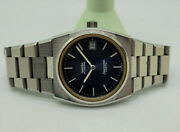 Used Vintage 1974 Omega Seamaster Cosmis Dark Blue Dial Date Auto Manand039s Watch