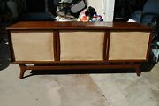 1960and039s Packard Bell Mid Century Mcm Modern Console Tube Radio Record Player