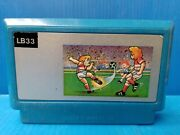 Rare Vintage Famiclone Soccer Lb-33 By Bit Games Old Famicom Nes Cartridge