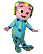 Baby Jojo Doll Cocomelon Mascot Costume Adult Size For Men And Women Free Shipping