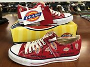 Vintage New Menand039s Size 10.5 Sneakers Red-white Logo Shoes 00cd3635