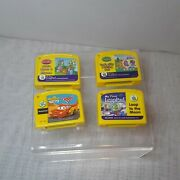 Lot Of 4 Leap Frog My First Leap Pad Preschool Game And Learning Cartridges Used
