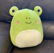 Squishmallow 12 Frog Kellytoy Rare Limited Quantity Same Day Shipping