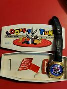 Pepe Le Pew And Penelope Dome Face Musical Watch With Case