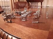 Vintage Lead Tin Soldiers Horse Cavalry Germany Prussia Set Of More Then 20 Pc