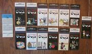 Pan American Airline Pan-am 1957 Set Of 13 Matchbook Matchcovers -f28