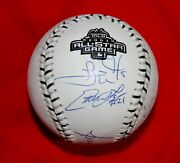 2003 All-star Game Baseball Signed By 4 Members Of The White Sox