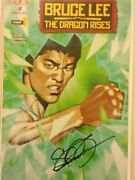 Bruce Lee Collectible Lot Rare Statue Htf Signed Comic Htf Exclusive Shirt +kato