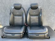 ✔mercedes W216 Cl600 Cl65 Front Right And Left Designo Leather Seat Seats Oem
