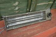 Old Vintage Ex Swedish Army Electric Space Heater Made By Ergo
